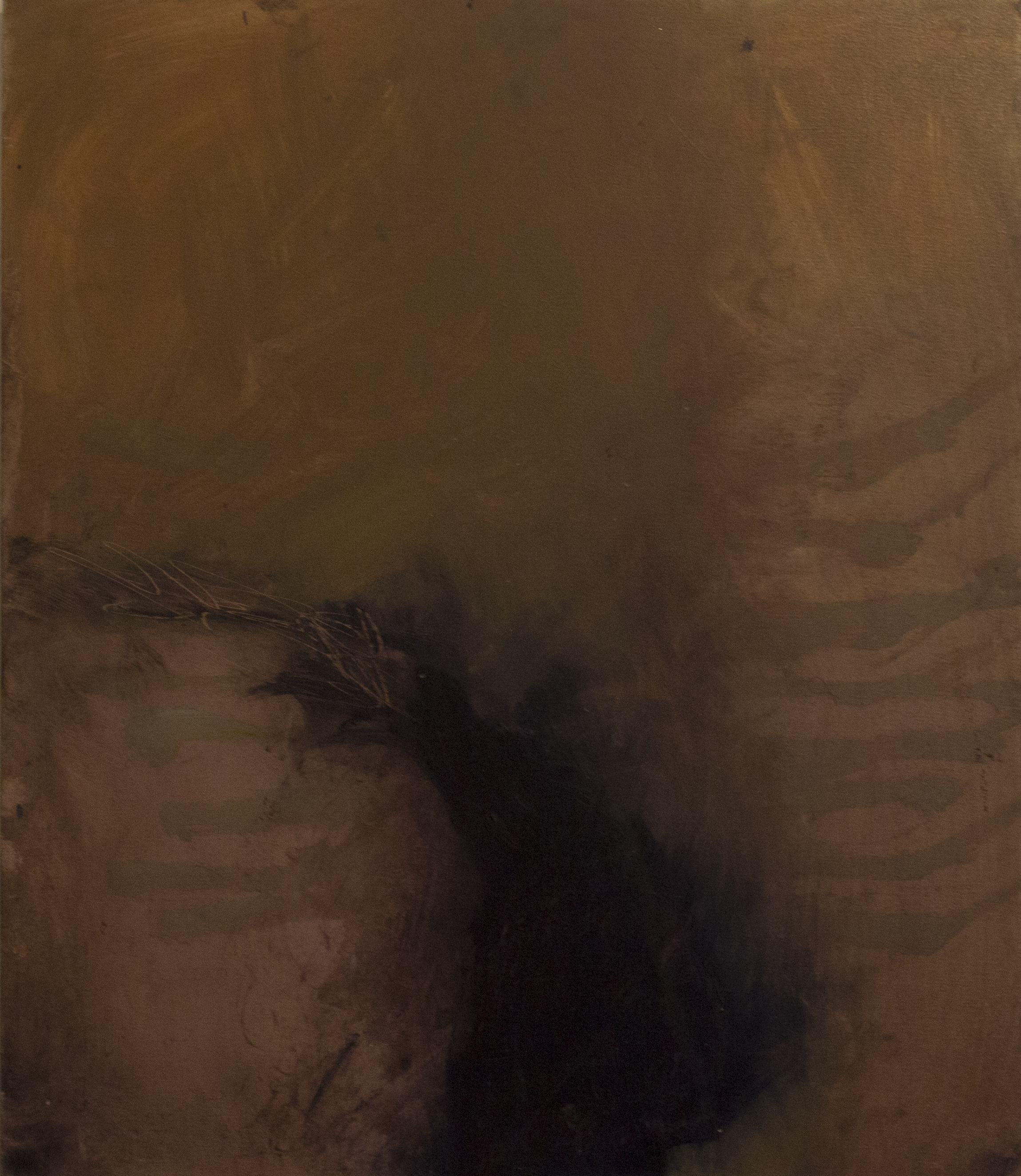 Jules Allan - A vestige 1, 70cm x 60cm, oil on canvas