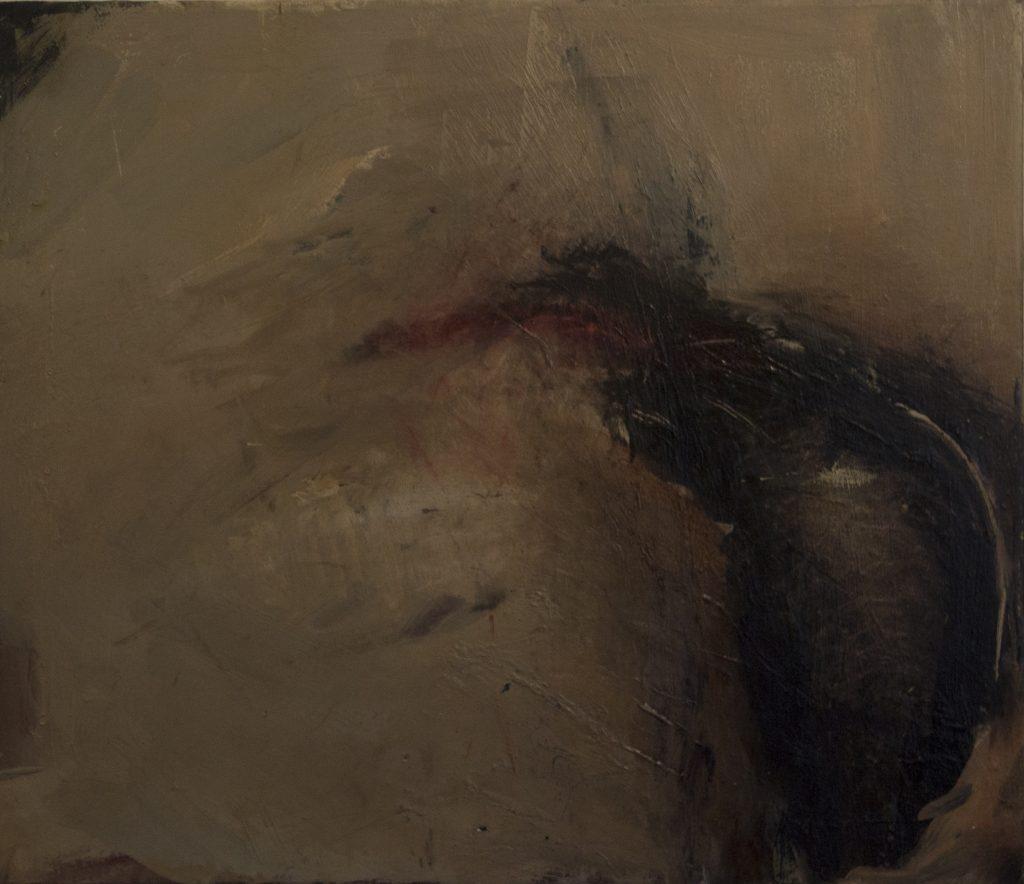 Jules Allan - A vestige 2, 60cm x 70cm, oil on canvas