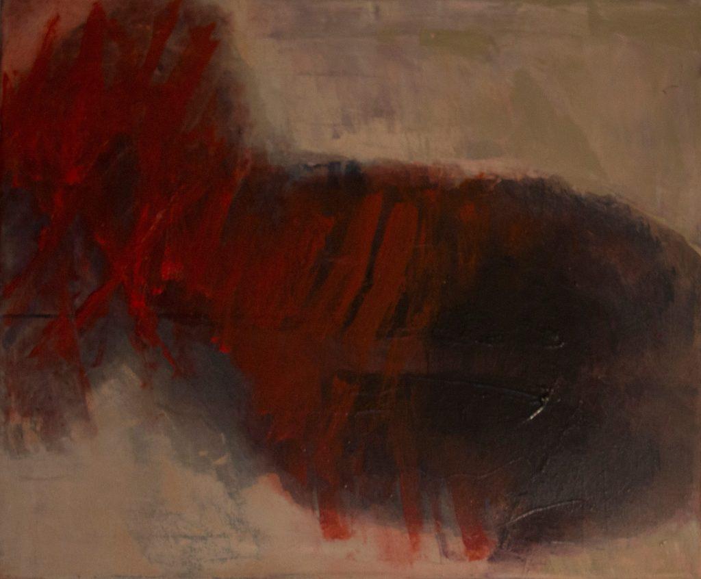 Jules Allan - Small head 50cm x 60cm, oil on canvas