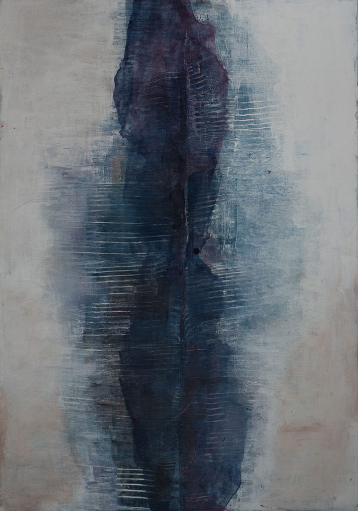 Jules Allan, Equivalence, Mixed media on canvas, 100cm x 70cm
