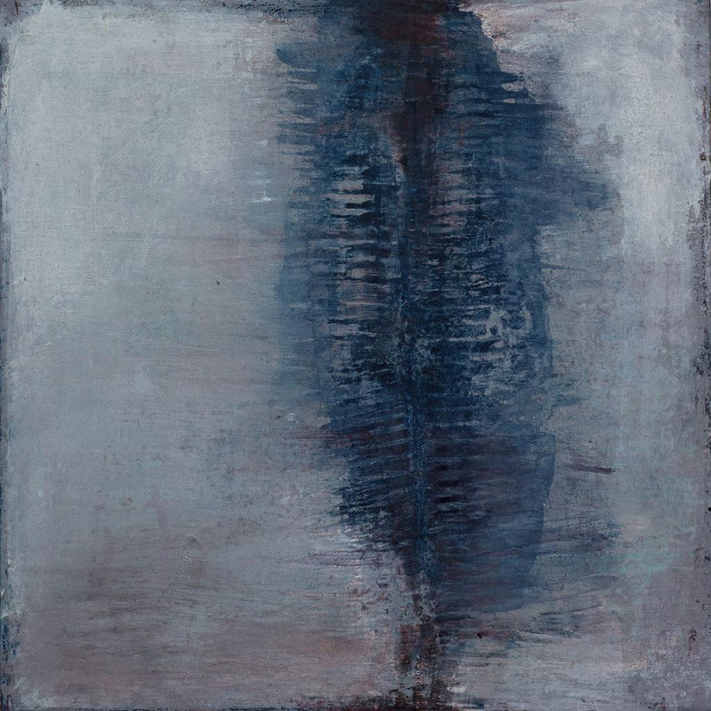 Jules Allan, Frail, Oil-on-Canvas, 50x50cm